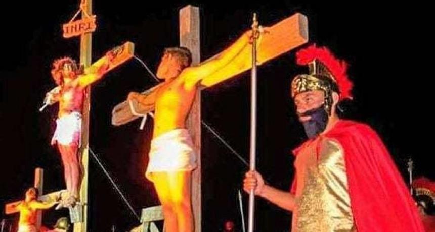 La Pasión de Cristo en Campanas del Rosario