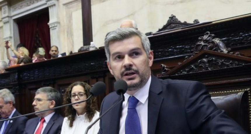 Marcos Peña al kirchnerismo: No nos vamos en diciembre