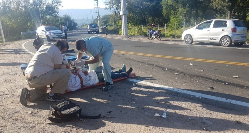 Verónica Mercado: involucrada en Accidente de transito en la Quebrada de Moreira