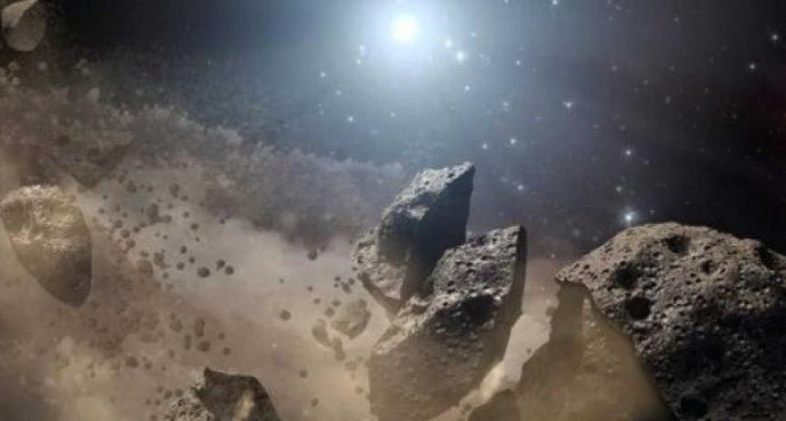 Descubren restos de un cometa con