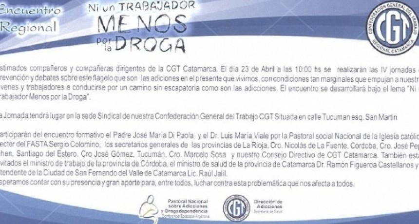 Este martes, se reúne Consejo Directivo CGT Catamarca