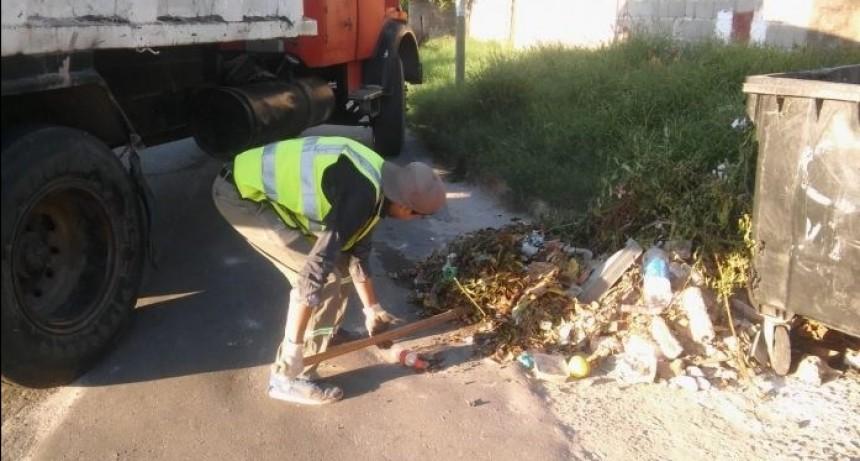 Refuerzan servicio de operativos de limpieza en la ciudad