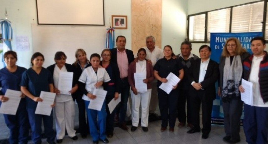 Médica venezolana para Santa María y nombramientos a enfermeros