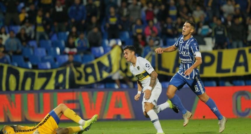 Boca ganó en Mendoza por la Copa de la Superliga