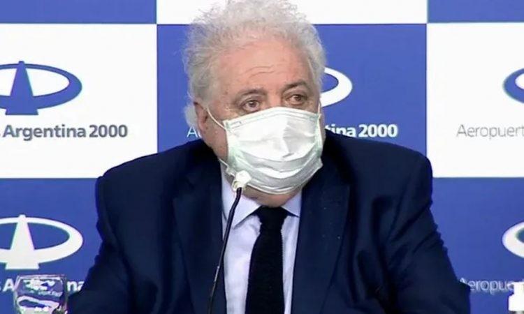 Ginés González García estimó que el pico de contagios ocurriría en junio
