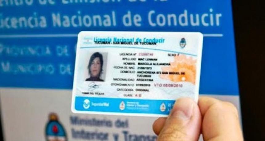 Se prorrogó el vencimiento de las licencias de conducir en la Capital
