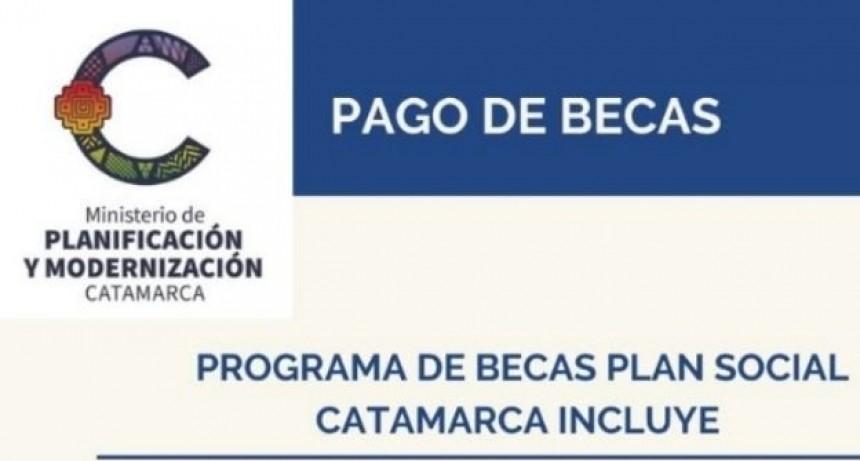 Pago de becas Catamarca Incluye
