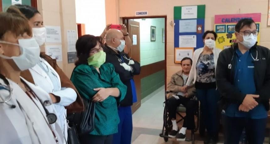 El Geriátrico San Lucas recibió la visita de funcionarios