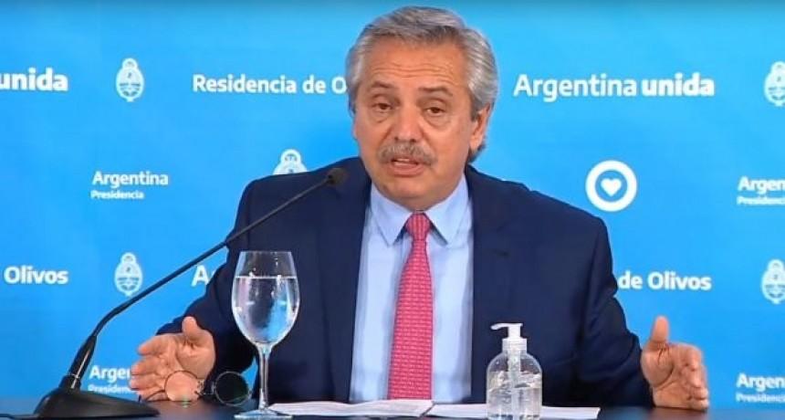 Alberto Fernández definiría que la cuarentena obligatoria seguirá hasta mayo