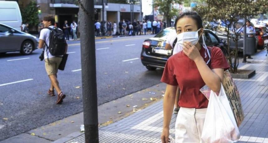 La ciudad de Buenos Aires estableció el uso obligatorio de barbijos