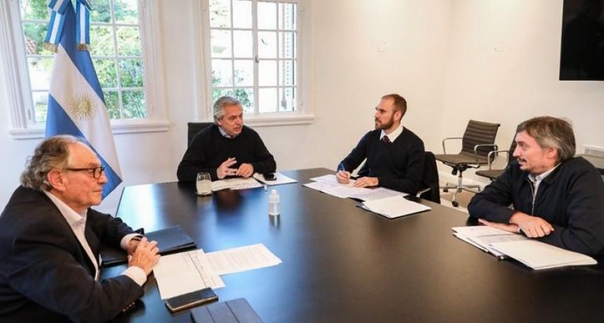 Alberto analizó el proyecto de impuesto a grandes fortunas
