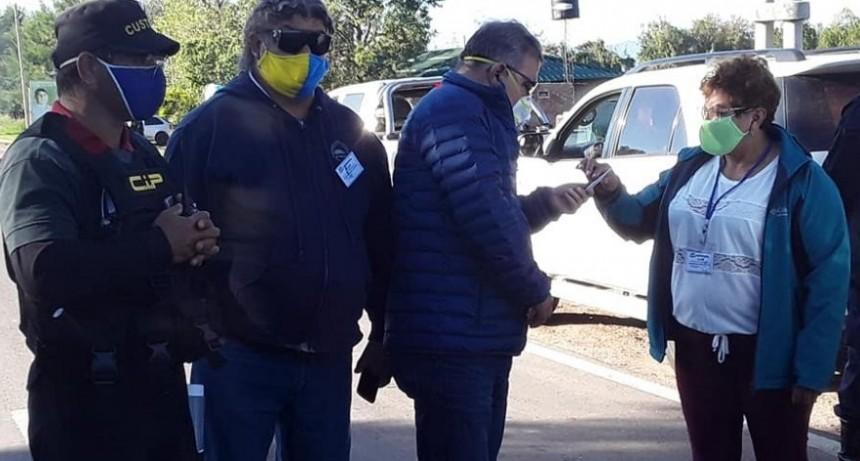 Jalil durante su visita a Los Altos evalúa las medidas adoptadas por el coronavirus
