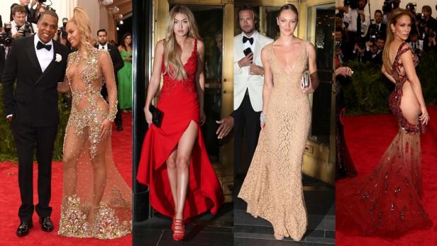 Transparencias y ostentosa extravagancia? MET Gala 2015