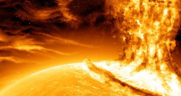 Una gran tormenta solar llega a la Tierra en los próximos días