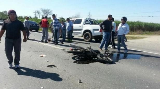 Accidente Fatal en Concepción sobre ruta Nº38
