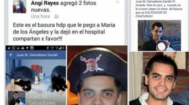 Dejaron en Libertad al karateca que golpeo a su hijastra y lo escrachan en facebook