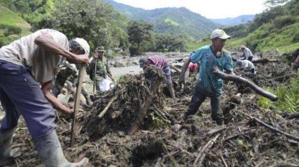 Milagro en Colombia: Un bebé sobrevivió al alud en Salgar