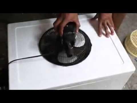 Un tailandés inventó un aire acondicionado casero