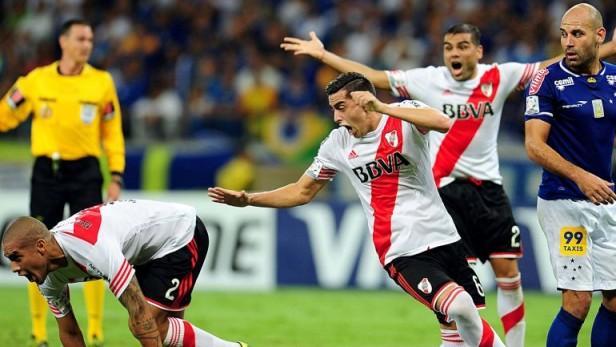 River golea al Cruzeiro y se mete en semis de la Copa