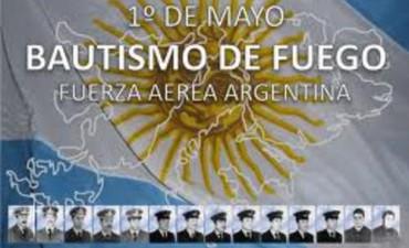 Hace 33 años, Bautismo de fuego de la Fuerza Aérea Argentina