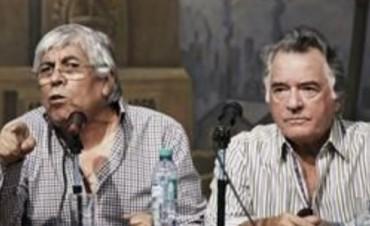 Barrionuevo y Moyano  anuncian Nuevo Paro de 36 horas