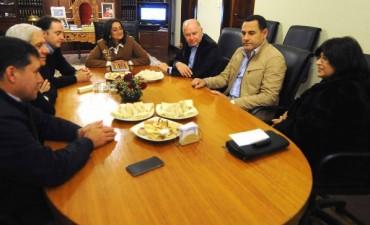 Vicegobernadores del NOA visitaron a Lucía
