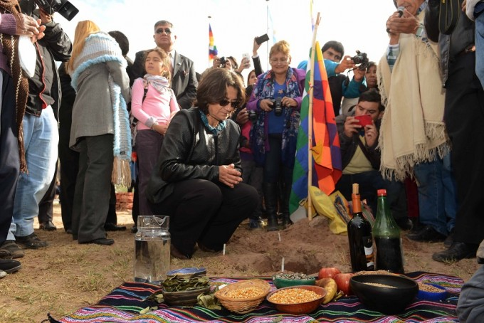 Primer Encuentro de Pueblos Originarios Andinos