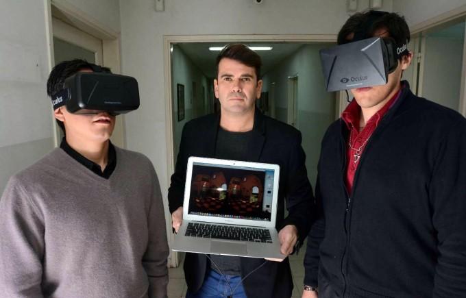 Mendoza: Crean dispositivo para evitar mareos en la realidad virtual