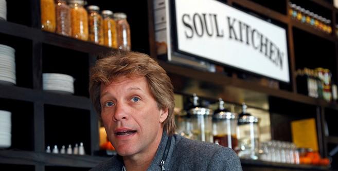 El cantante Bon Jovi abre un restaurante donde los pobres no pagan