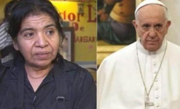 """Margarita Barrientos fue invitada al Vaticano por Francisco pero dijo que """"no puede"""""""