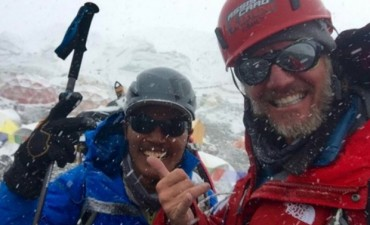 La Gran Azaña de Facundo Arana,  Logró Hacer Cumbre en el Everest