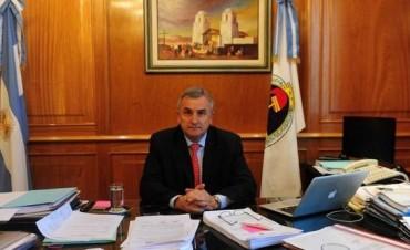 Denuncian amenazas de muerte contra el gobernador Gerardo Morales
