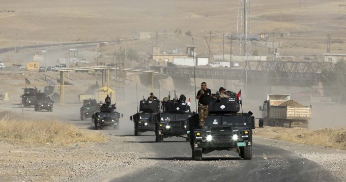 Diez soldados muertos en una emboscada del EI en Irak