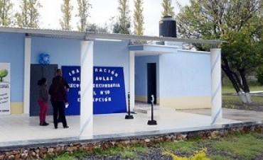 Nuevas instalaciones en la Escuela Secundaria Rural Nº 10
