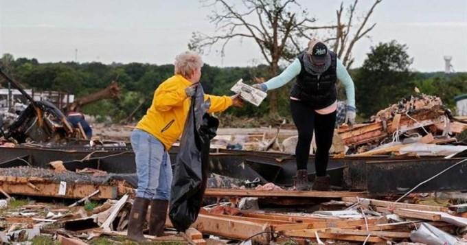 Tornados y tormentas en EE.UU. dejaron 11 muertos