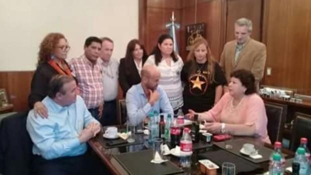 Guillermo Dietrich se reunió con integrantes de Faviatca