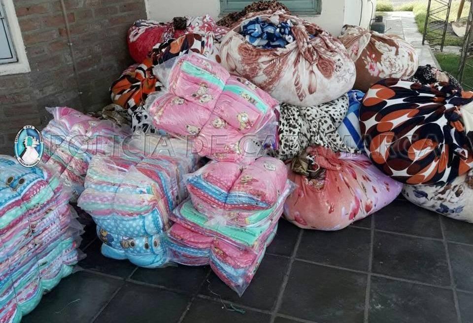 Secuestran hojas de coca y prendas de vestir, por un monto de $600.000