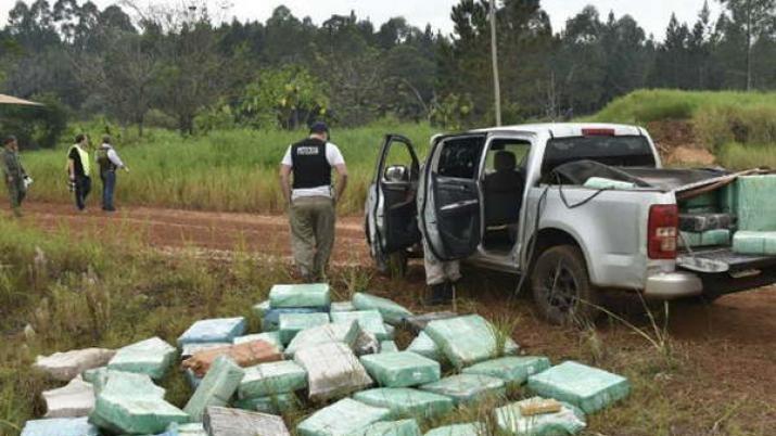 Hallan droga valuada en más de 38 millones