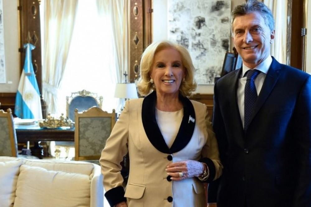 Mirtha Legrand arremetió contra Macri y su Mujer