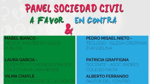 Organizan debate local sobre la despenalización del aborto