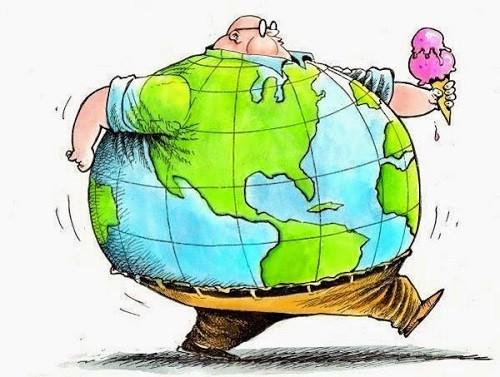 La obesidad crecerá un 22% para el 2045