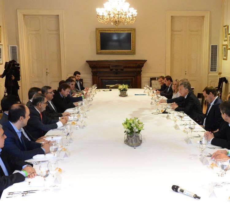 El Presidente recibió a Raúl Jalil