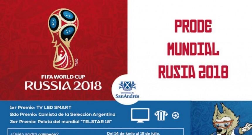 Prode oficial de Rusia 2018 Con grandes premios