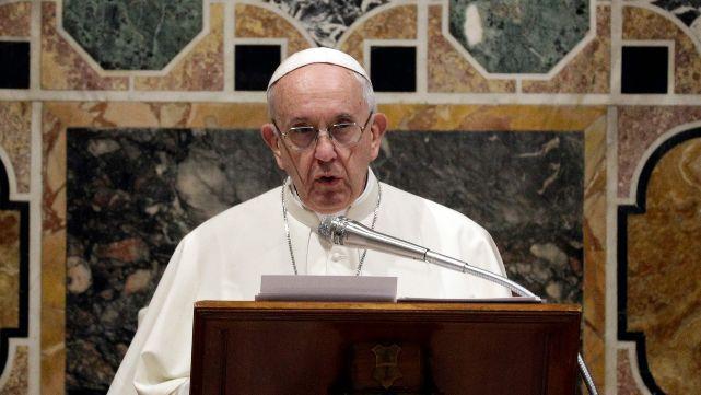 El Papa, contra la esclavitud: