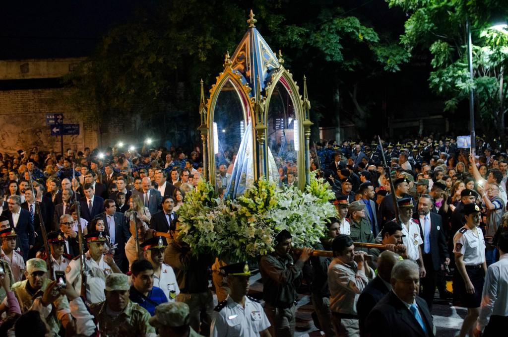 Catamarca vivió una imponente muestra de amor a la Virgen
