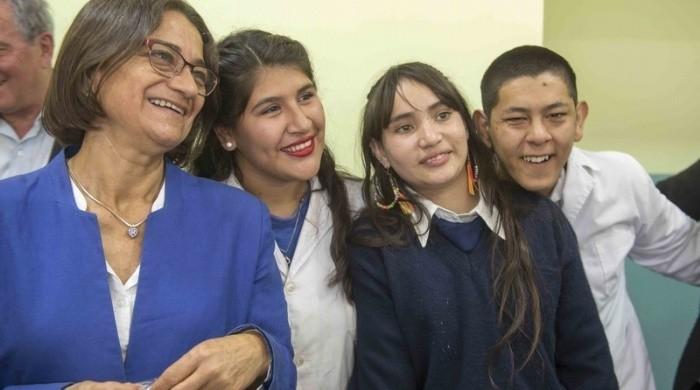 La Gobernadora inauguró la Escuela Especial N°2 Un Nuevo Día