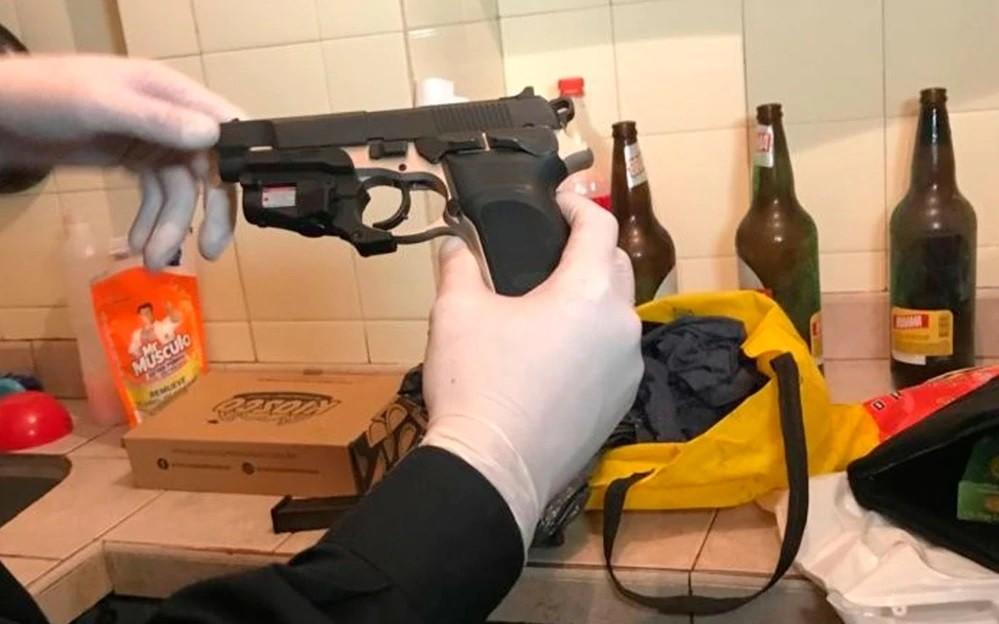 Esta es el arma que usaron para matar a Miguel Yadón