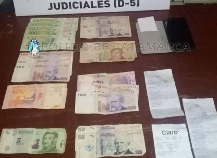 Una pareja fue detenida por el robo en una empresa