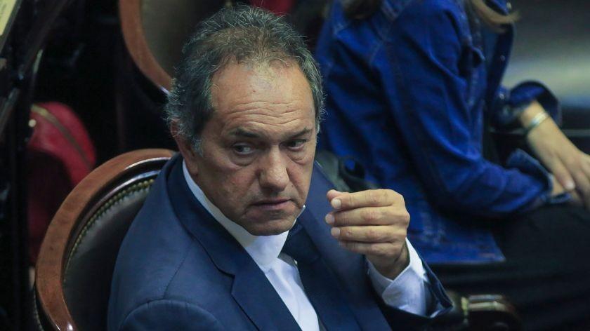 Tras el anuncio de Cristina, Scioli ratificó su precandidatura a presidente