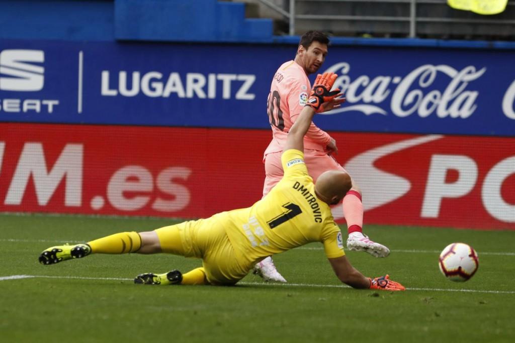 Messi cerró La Liga con dos goles y alcanzó un nuevo récord